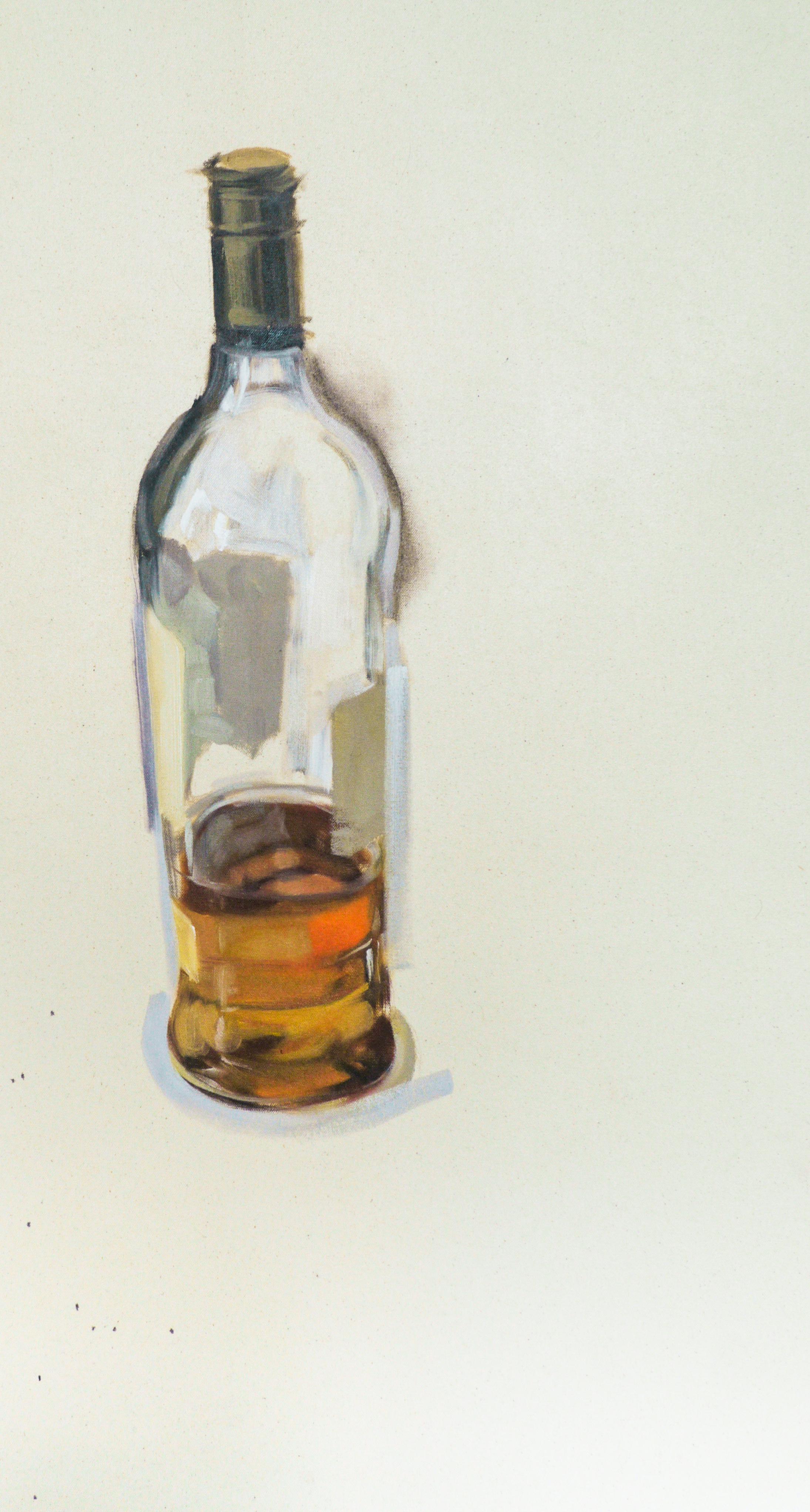Original art lee milby for Liquor bottle art