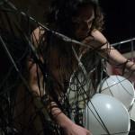 performance art balloons