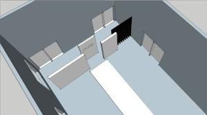 sketchup screenshot runway design