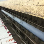 subway track water