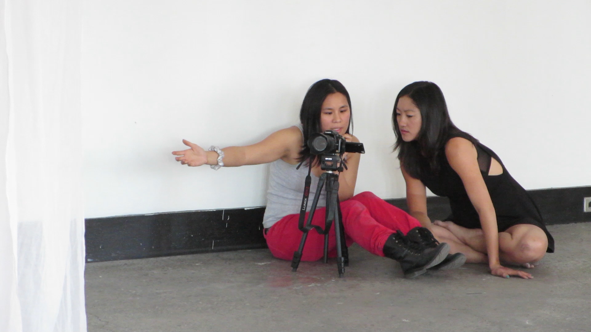 Lee Milby and Jessica Chen
