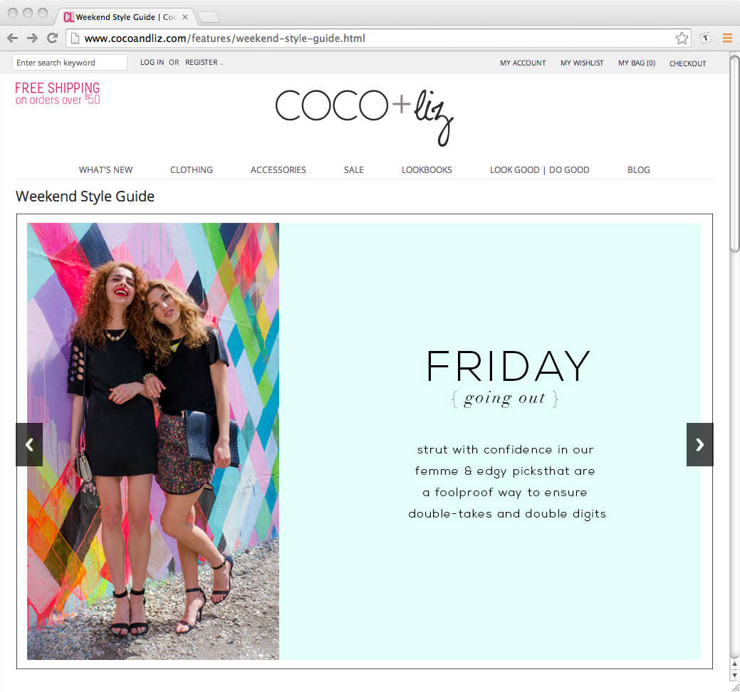 coco and liz spring and summer style
