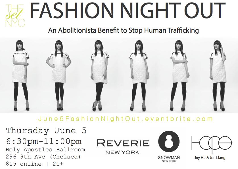fashion night out nyc