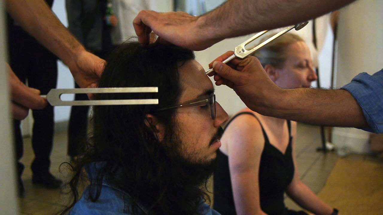 tuning fork musical healing