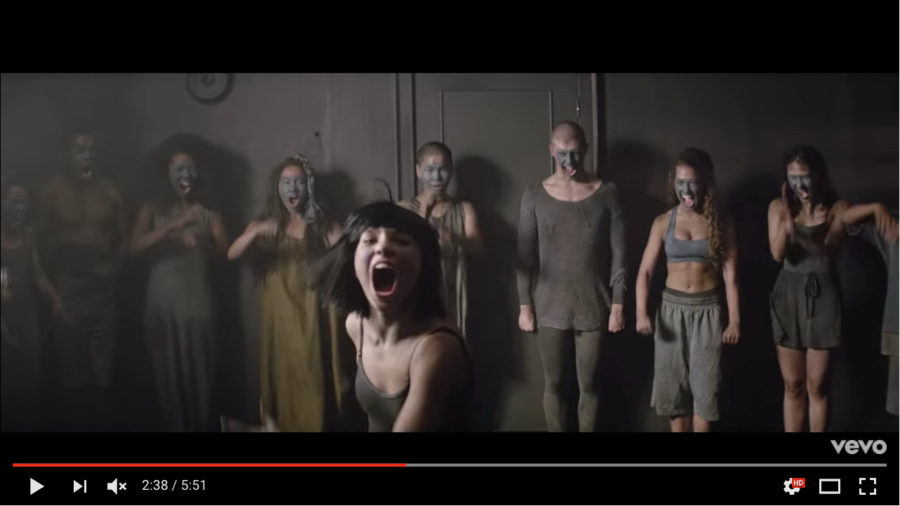 Sia the greatest music video 5
