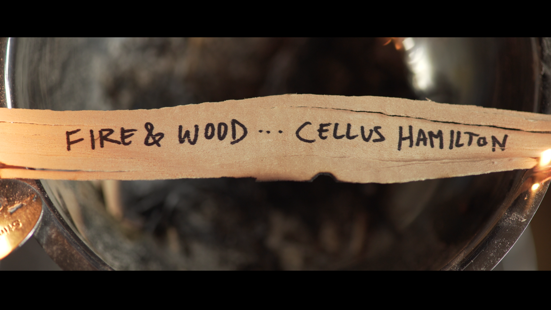 fire and wood by cellus hamilton