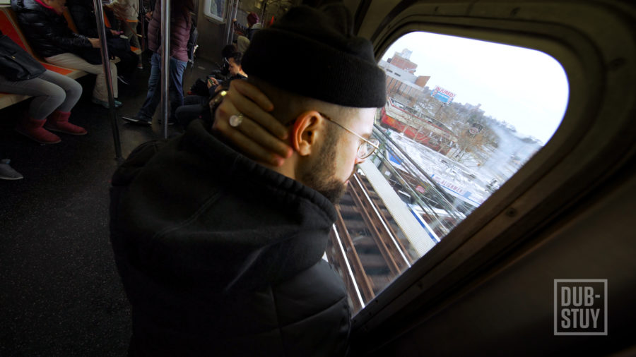 music video subway train window