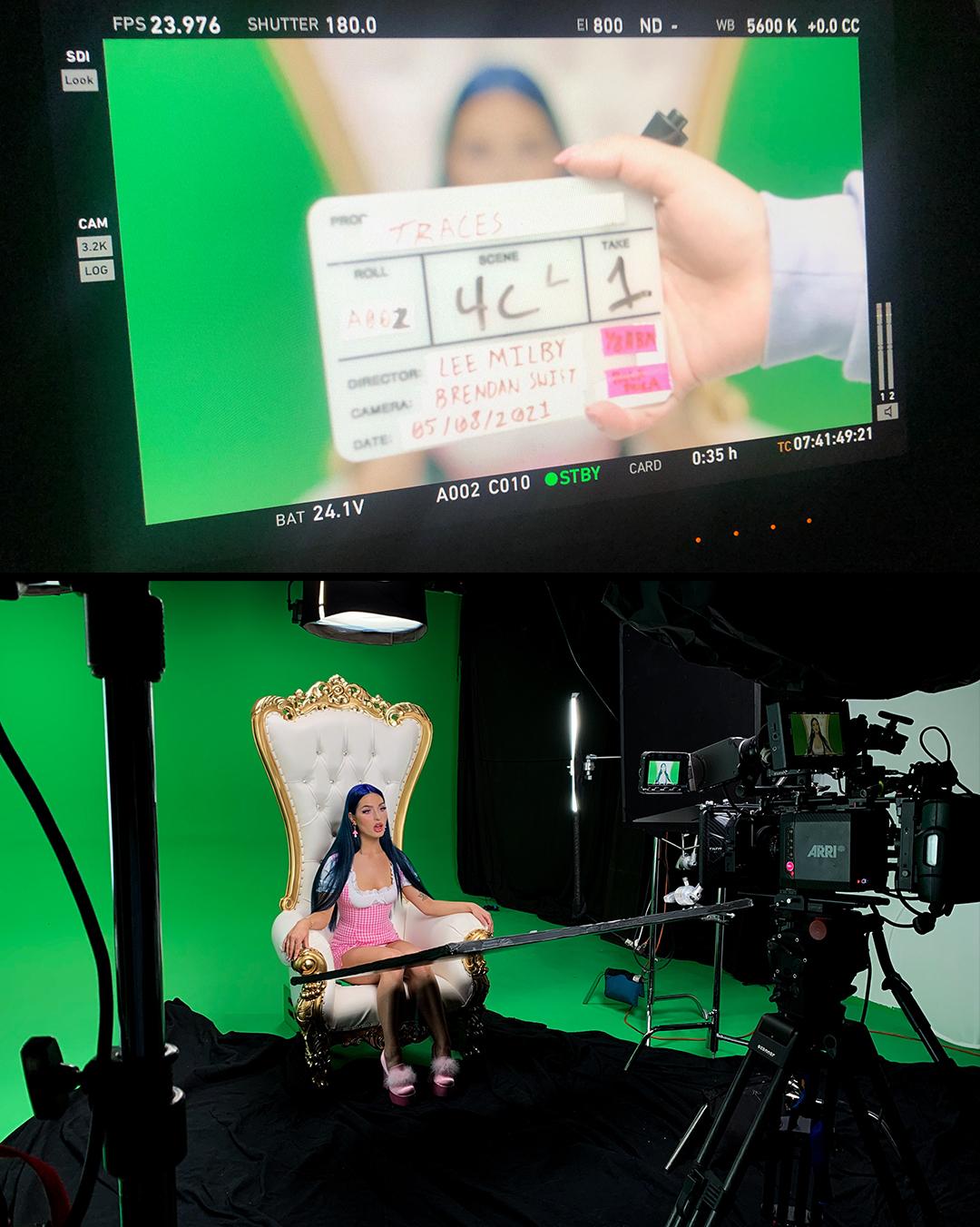 behind the scenes greenscreen studio shoot new york city