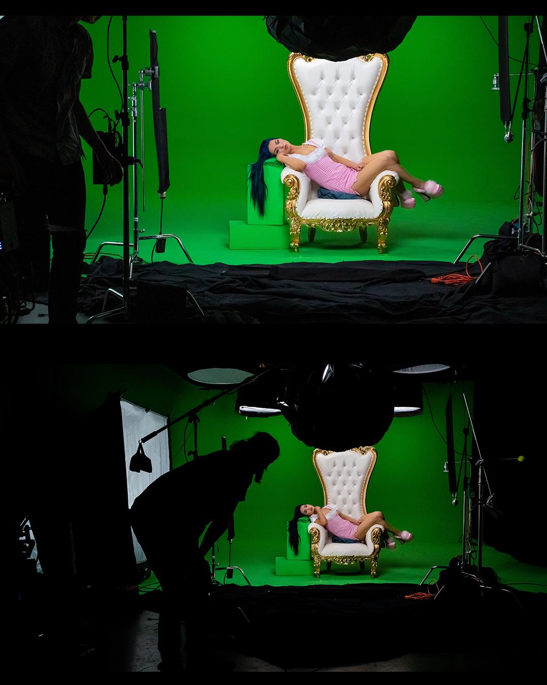greenscreen music video shoot nyc